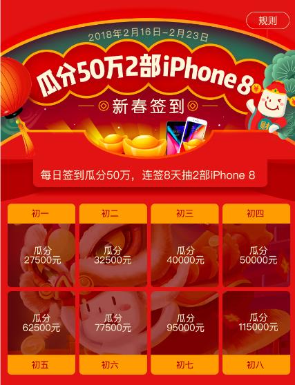 随手记社区新春送好礼 50万红包iPhone8等你拿
